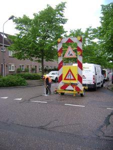 asfaltonderzoek in Purmerend
