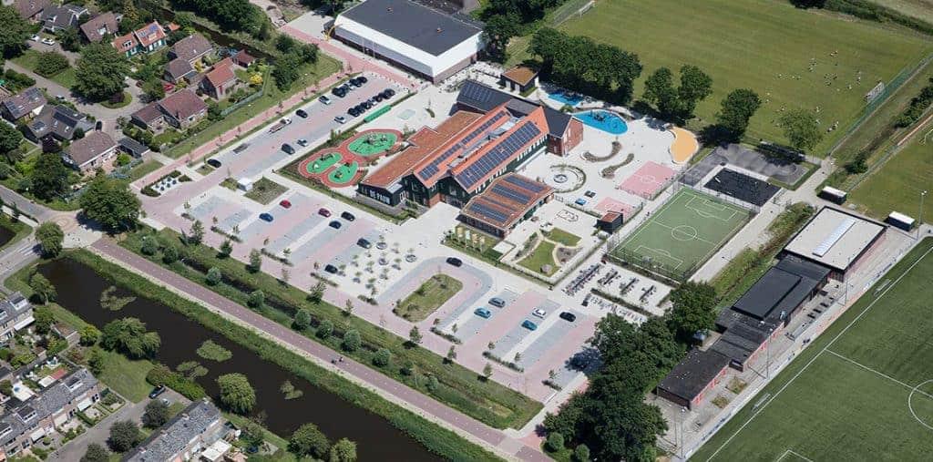 Aanleg Recreatieterreinen Sportvelden